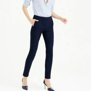 J.Crew Navy Blue Ryder Skinny Stretchy Pants